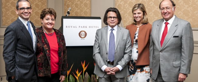 Royal Park Hotel hosted the Semiannual Executive Forum´s Meeting