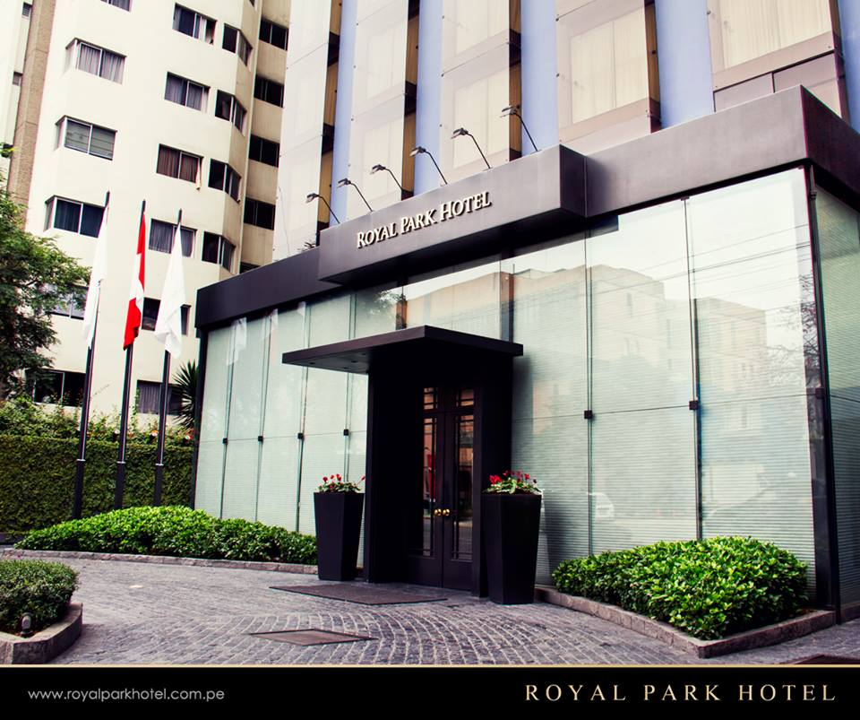 Royal Park Hotel in Luhho October / November 2014